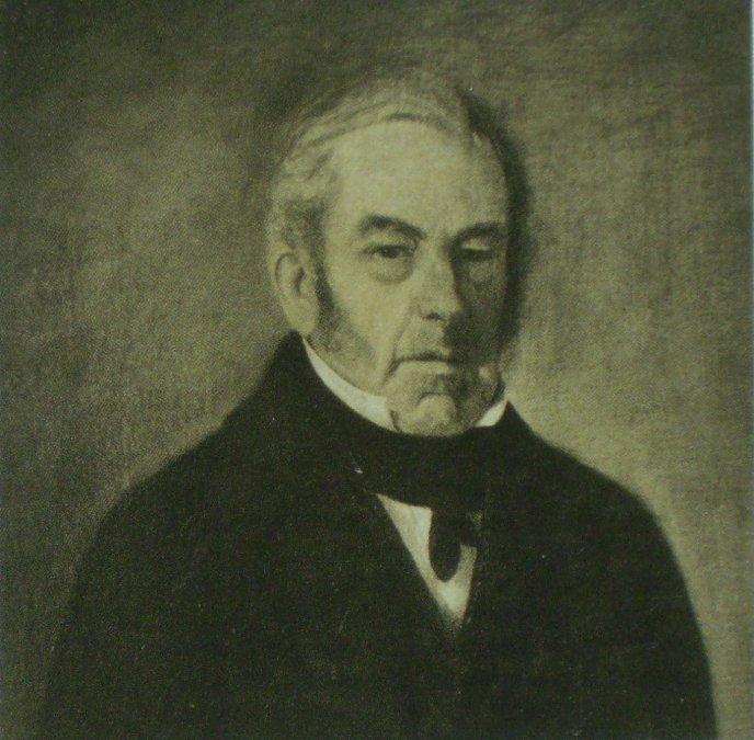 Juan Martín de Pueyrredón pintado por su hijoPrilidiano Pueyrredón.