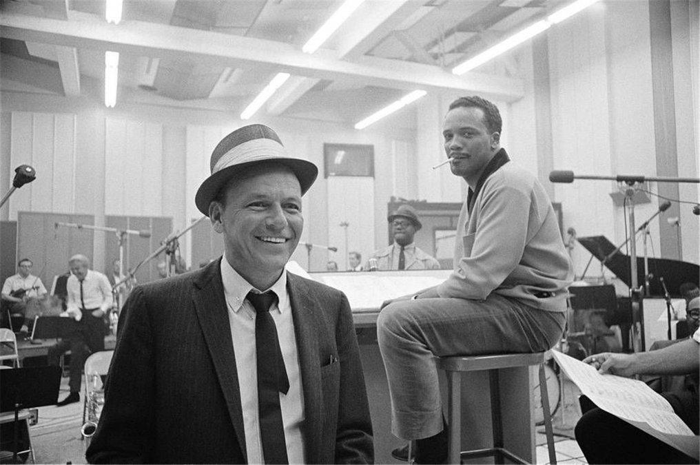 Frank Sinatra y Quincy Jones