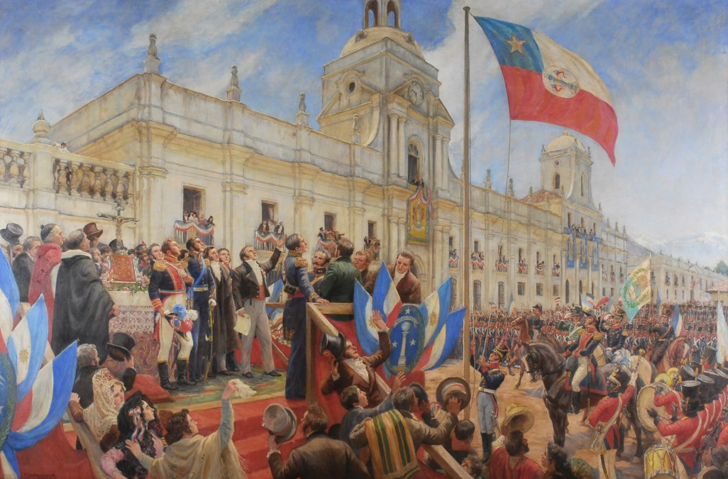 Proclamación y jura de la Independencia de Chile
