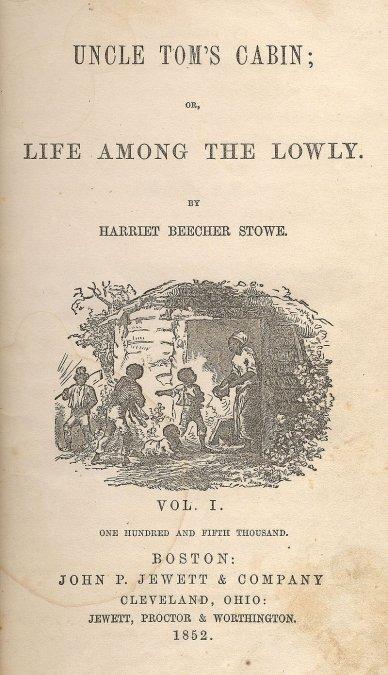 Portada de la edición de Boston de 1852.