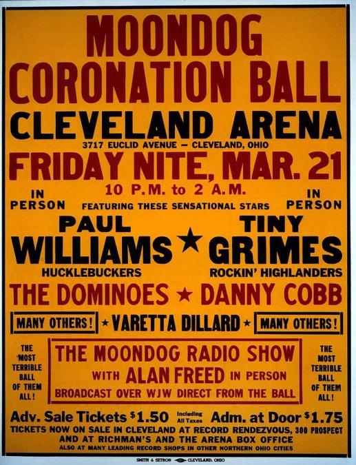 El primer concierto de rock de la historia