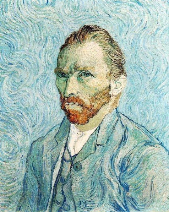 Autorretrato - Van Gogh (1889)