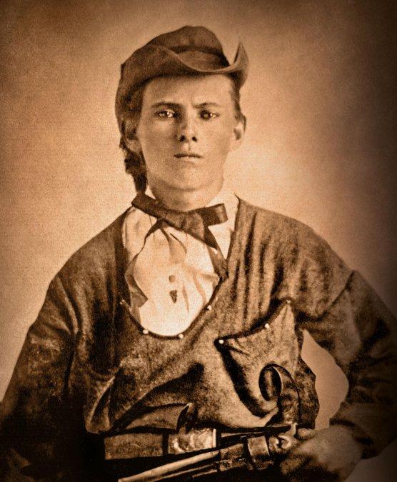 Jesse Woodson James(5 de septiembrede1847-3 de abrilde1882).