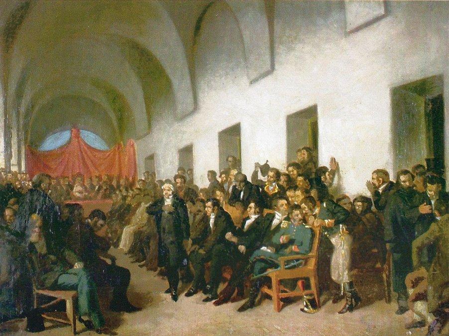 Cabildo abierto del 22 de mayo de 1810.