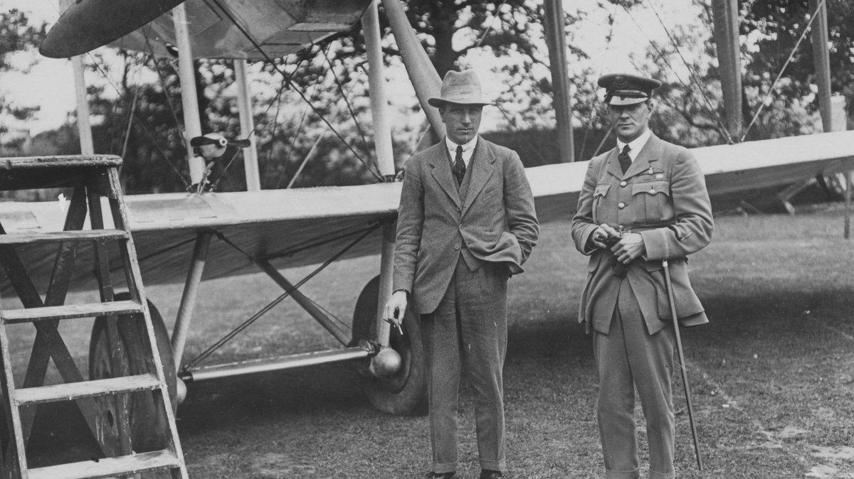 Alcock y Brown.