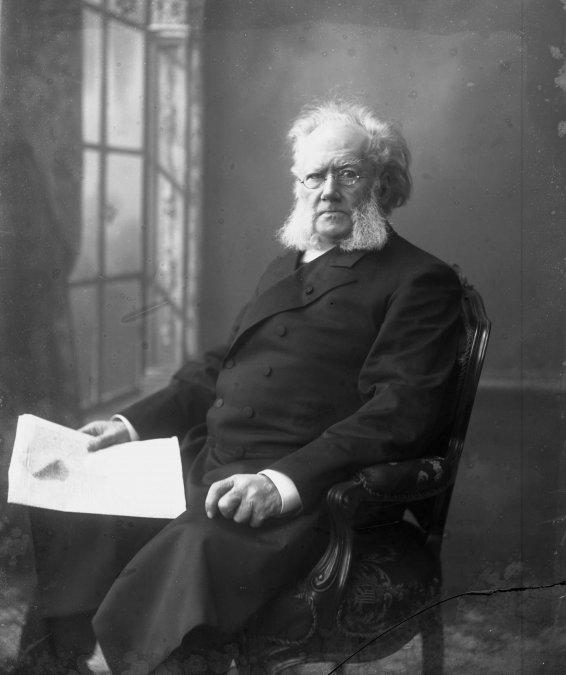 Henrik Johan Ibsen.