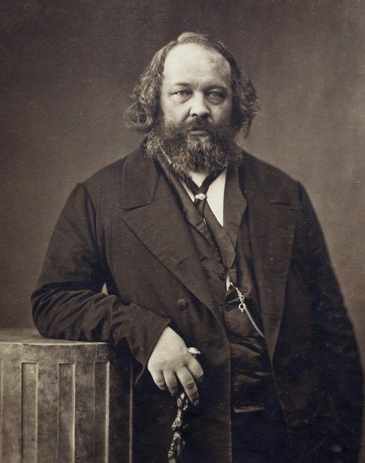 Mijaíl Aleksándrovich Bakunin.