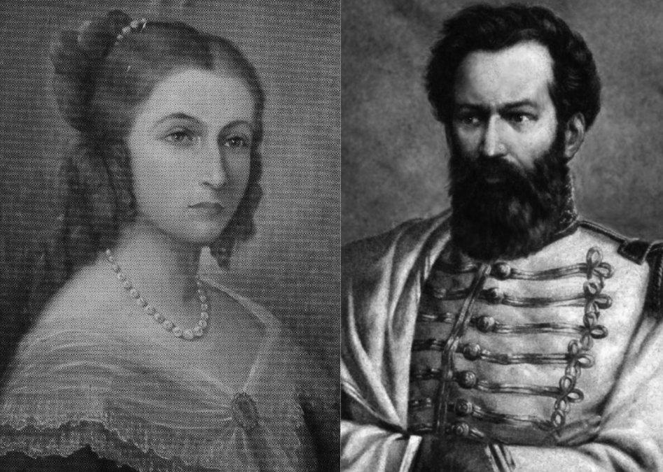 Carmen Puch y Juan Martín Güemes.