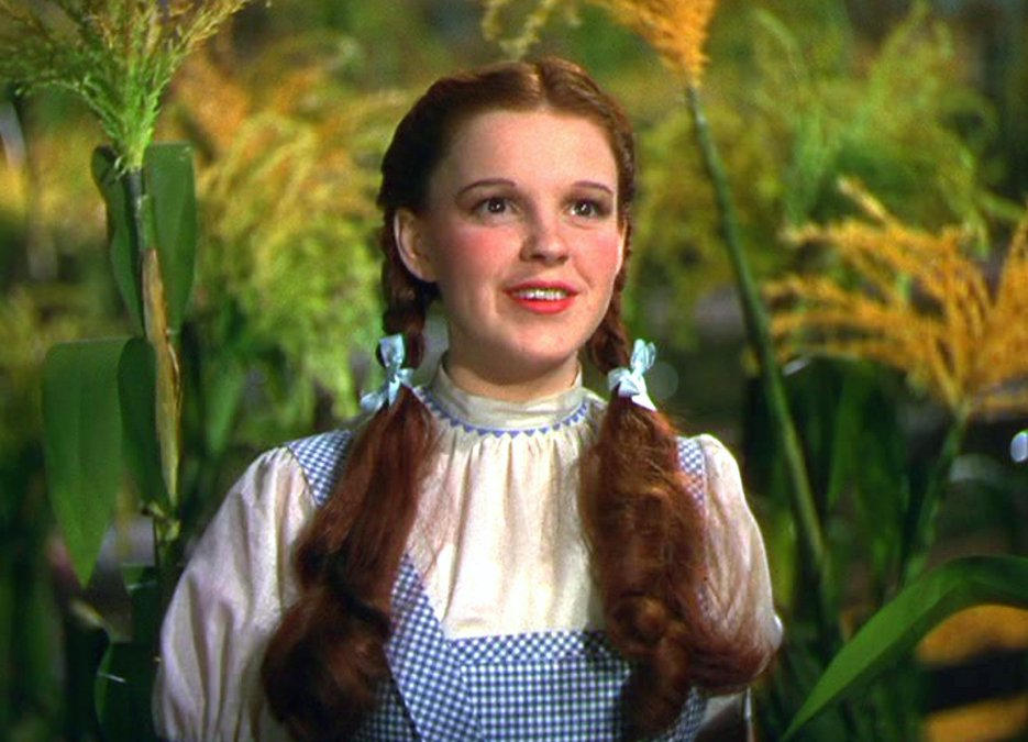 En los zapatos de Dorothy