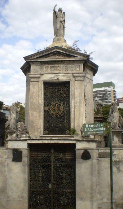Panteón de Martín de Álzaga y familia