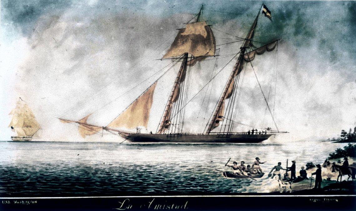 Rebelión a bordo: La Amistad