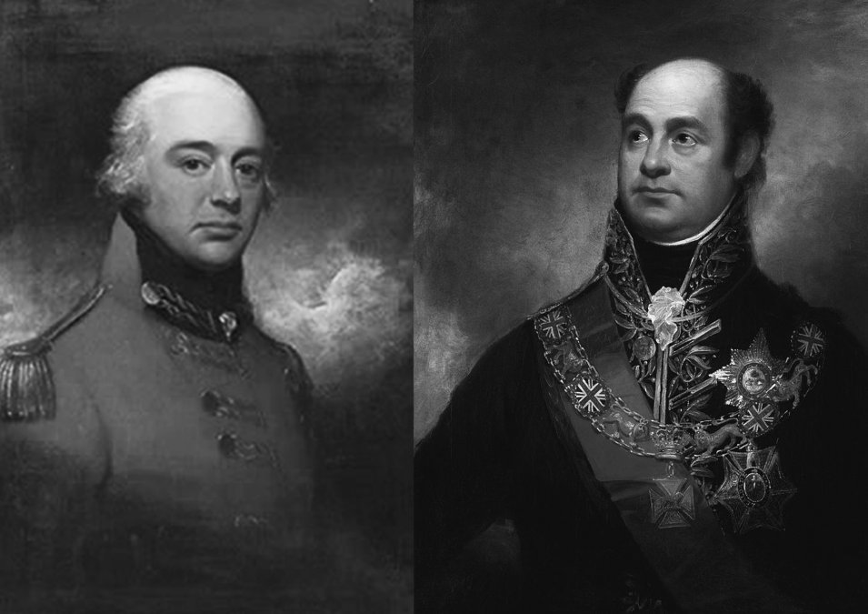 John Whitelocke y William Carr Beresford.