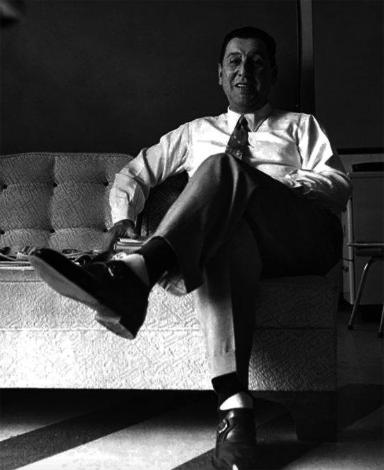 Juan Domingo Perón en Caracas