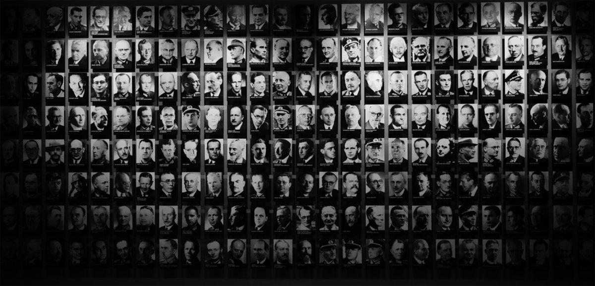 Los rostros de los conspiradores se despliegan en el Memorial de la Resistencia Alemana