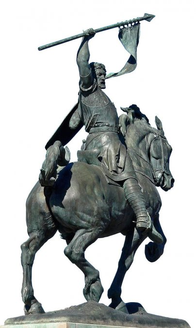 Estatua ecuestre del Cid Campeador en el Balboa Park