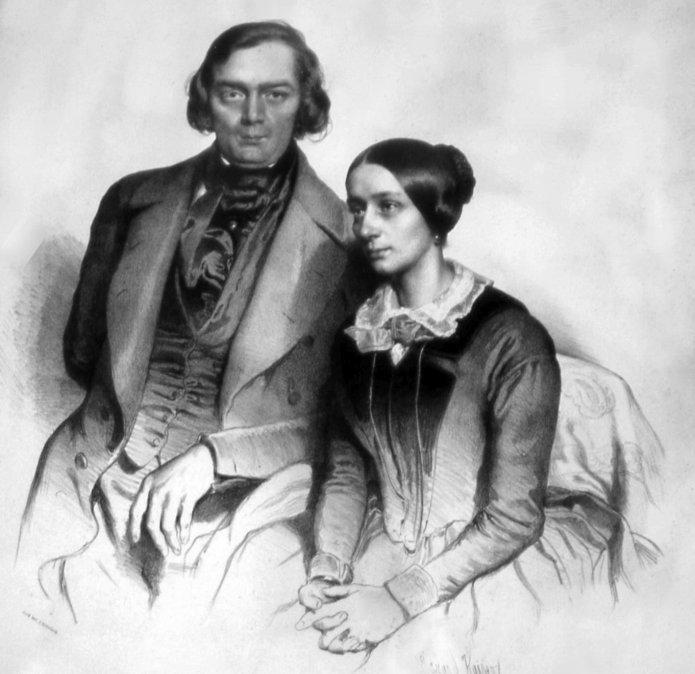 Robert yClara Schumann.