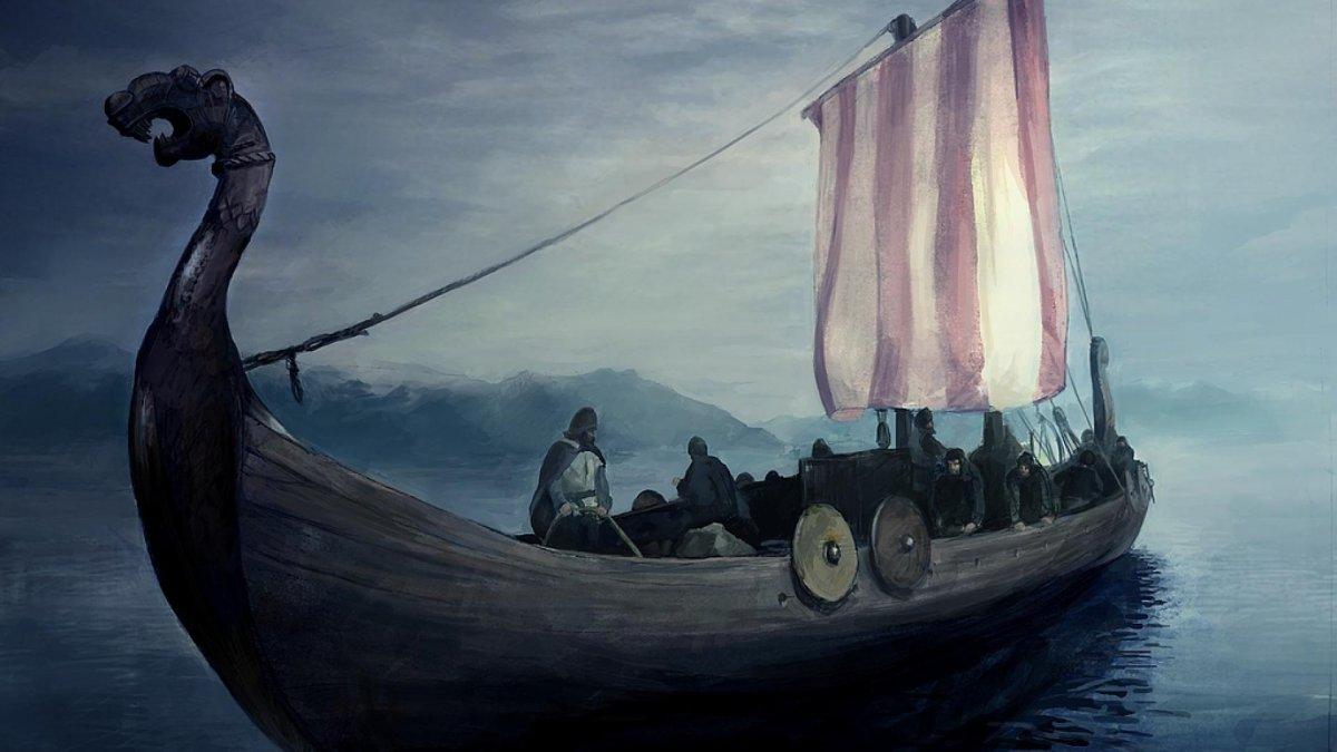 Vikingos hacia el mar