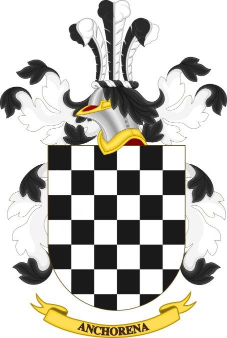 Escudo de Armas de la familiaAnchorena.