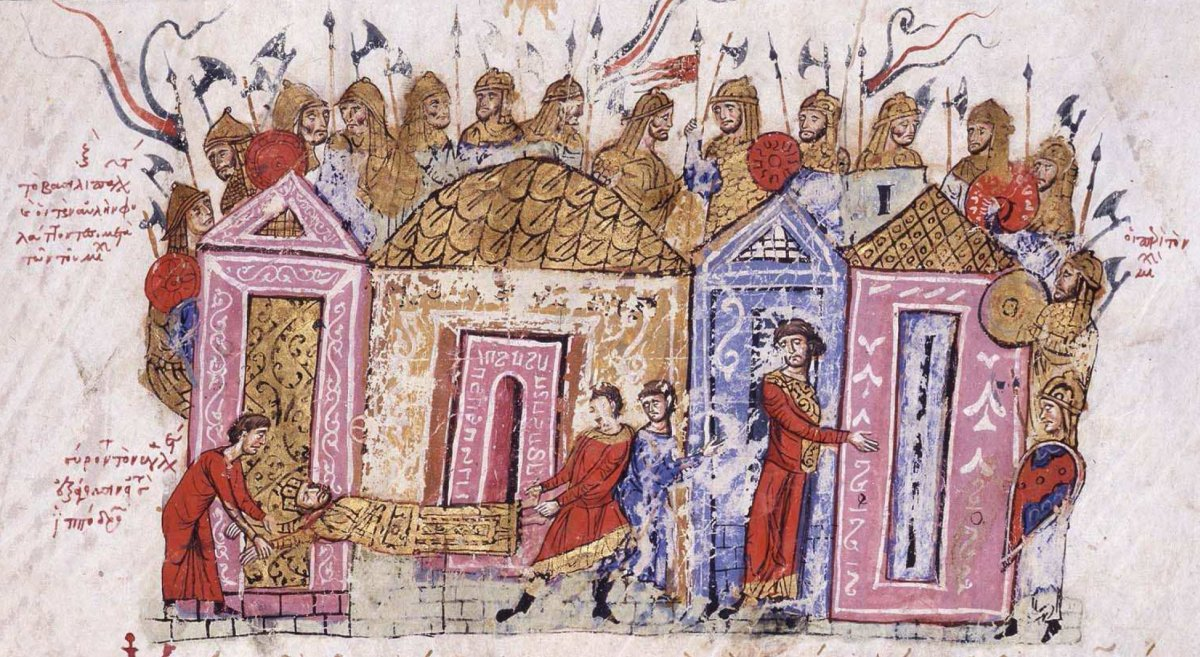 Guardia Varega en la crónica Skylitzes Matritensis(manuscritoilustradode laSinopsis de la historia