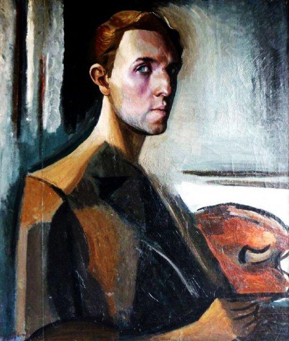 Autorretrato (1930) - Lino Enea Spilimbergo.