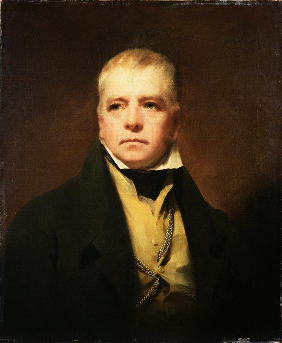 Retrato de Sir Walter Scott por Sir Harry Raeburn.