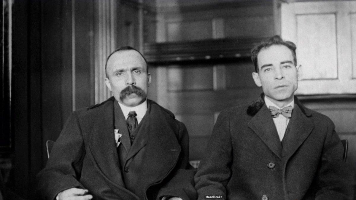 El juicio de Sacco y Vanzetti