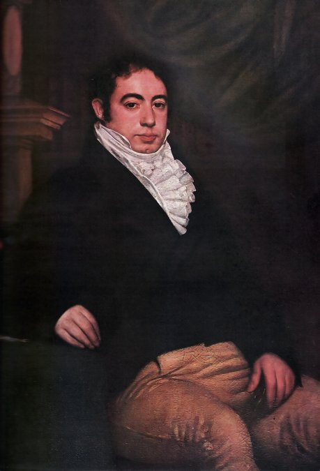 Bernardino de la Trinidad González de Rivadavia y Rodríguez de Rivadavia (1780-1845).