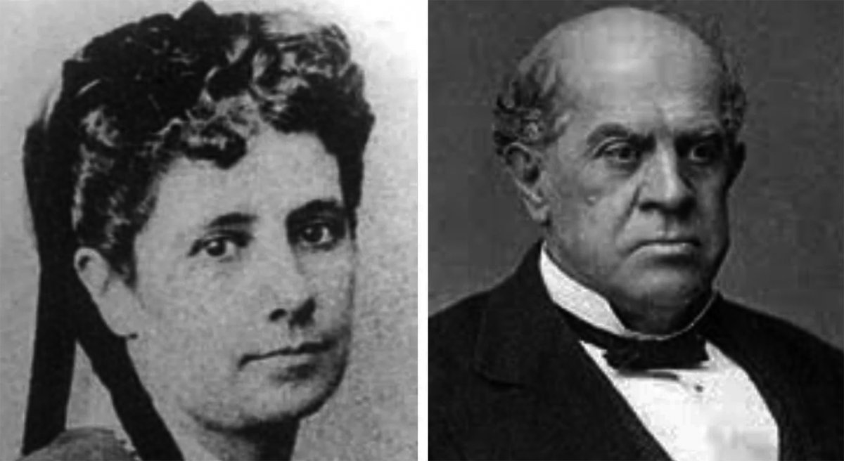 Domingo Faustino Sarmiento y Aurelia Vélez Sársfield, la eterna amante