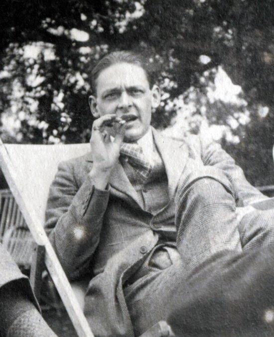 La voz de T. S. Eliot: en mi fin está mi principio