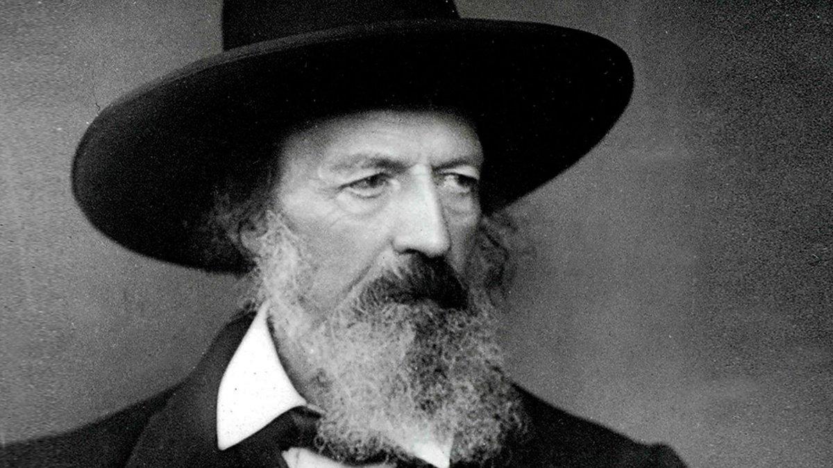 Lord Alfred Tennyson, el poeta del Reino