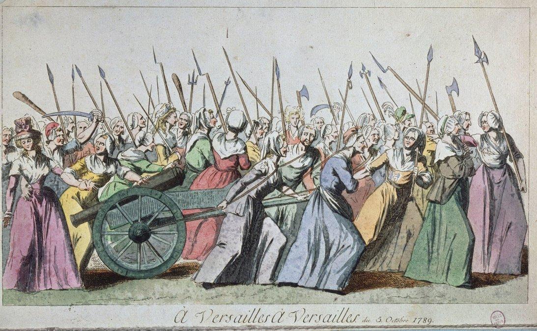 La fuerza del destino: la marcha de las mujeres en las jornadas de octubre de 1789