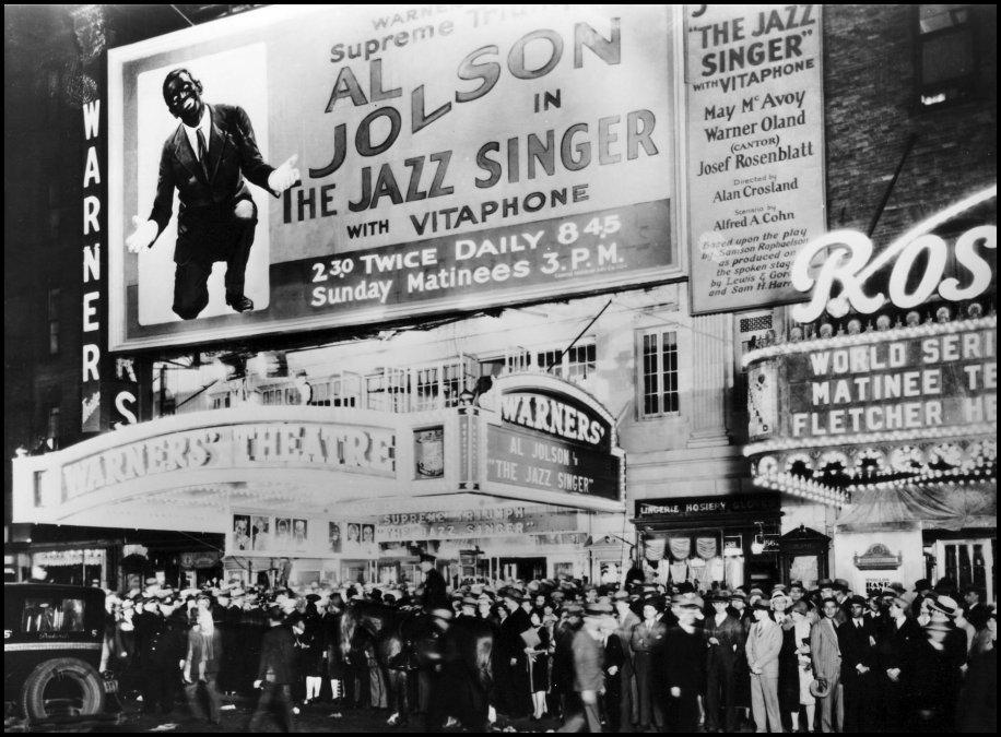 Premier de The Jazz Singer.