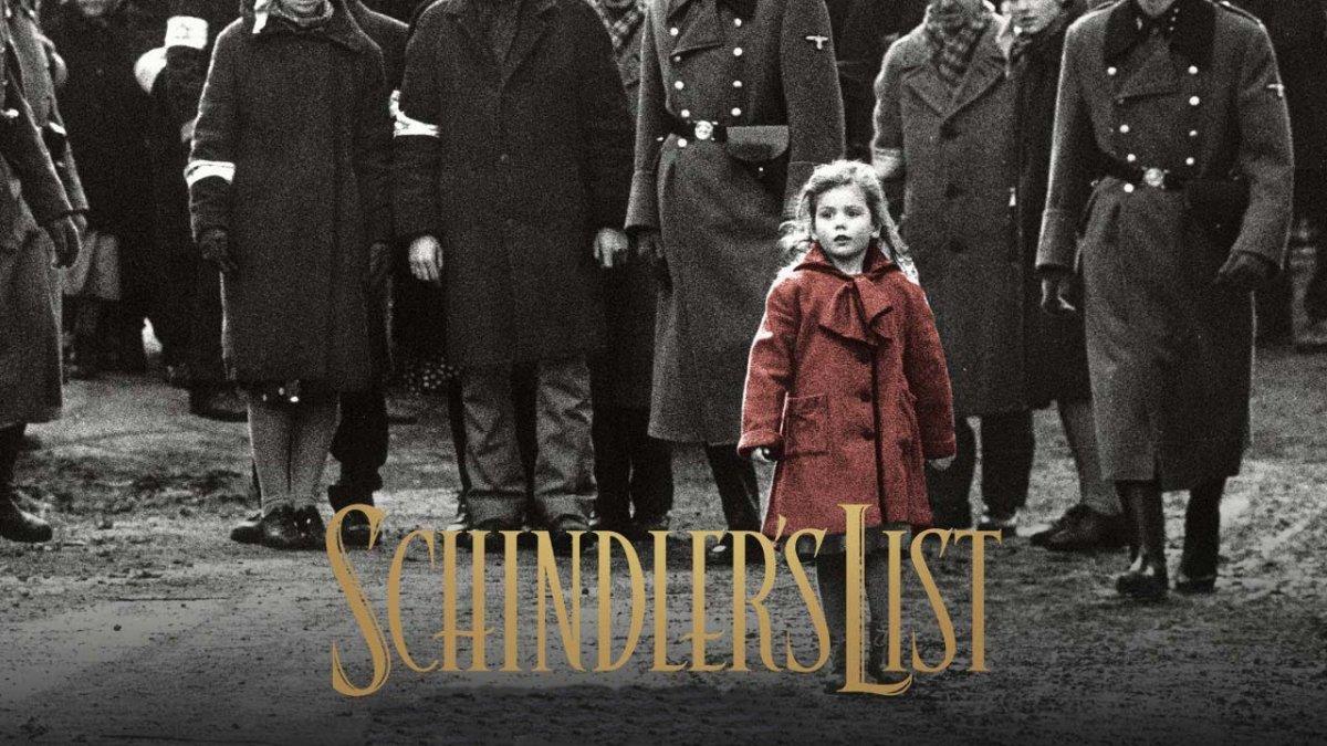 Schindlers List (1993) es una películabasada en la novelaEl arca de Schindler