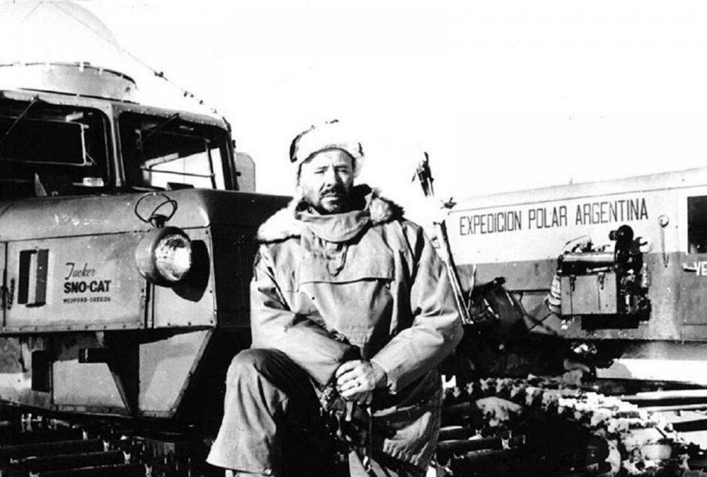 La conquista blanca: El general Leal llega al Polo Sur