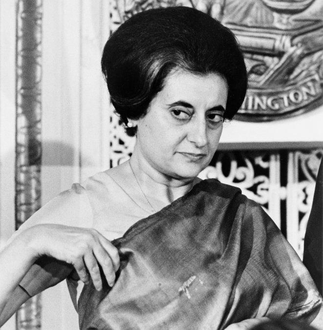Indira Gandhi (1966).