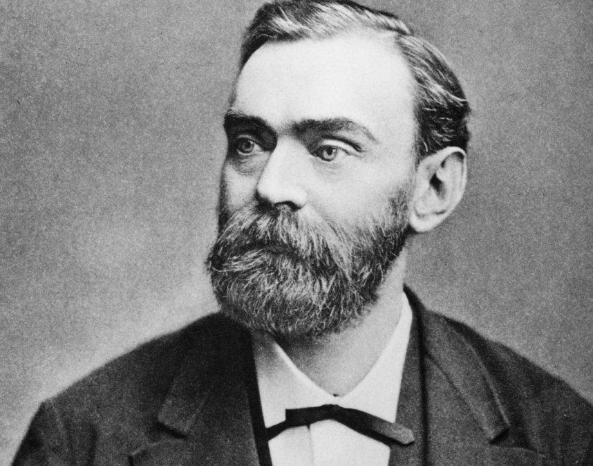 Alfred Nobel y la dinamita