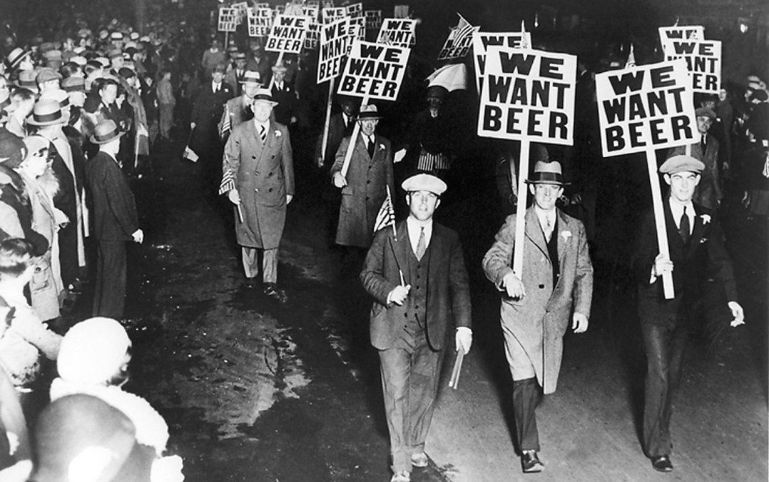 La Ley Seca: ¡Queremos cerveza!