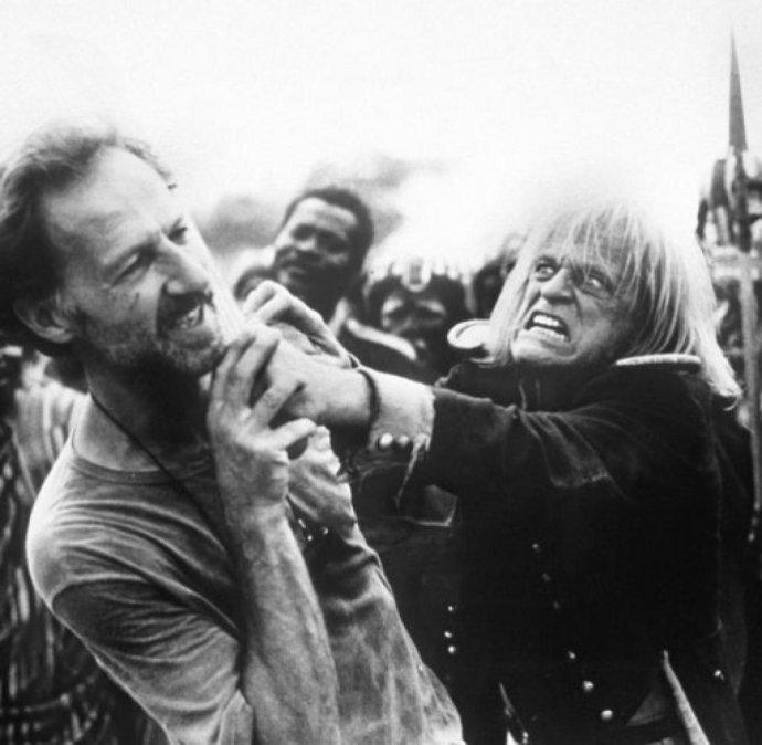 Cobra verde fue la última colaboración entre Herzog y Kinski y no estuvo exentas de peleas.