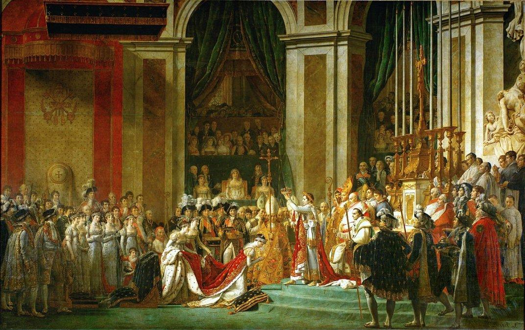 La consagración(enfrancésLe Sacre de Napoleón) es una pintura deJacques-Louis David