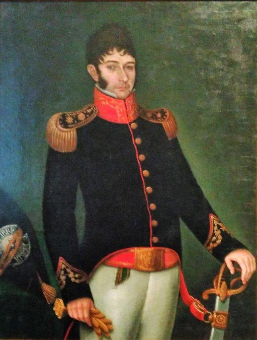 Nicolás Rodríguezde laPeña(30 de abril de 1775 - 3 de diciembre de 1853).
