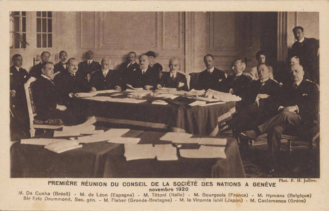 Argentina se retira de la Sociedad de las Naciones