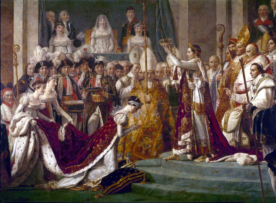 Pintura y política: La coronación de Napoleón