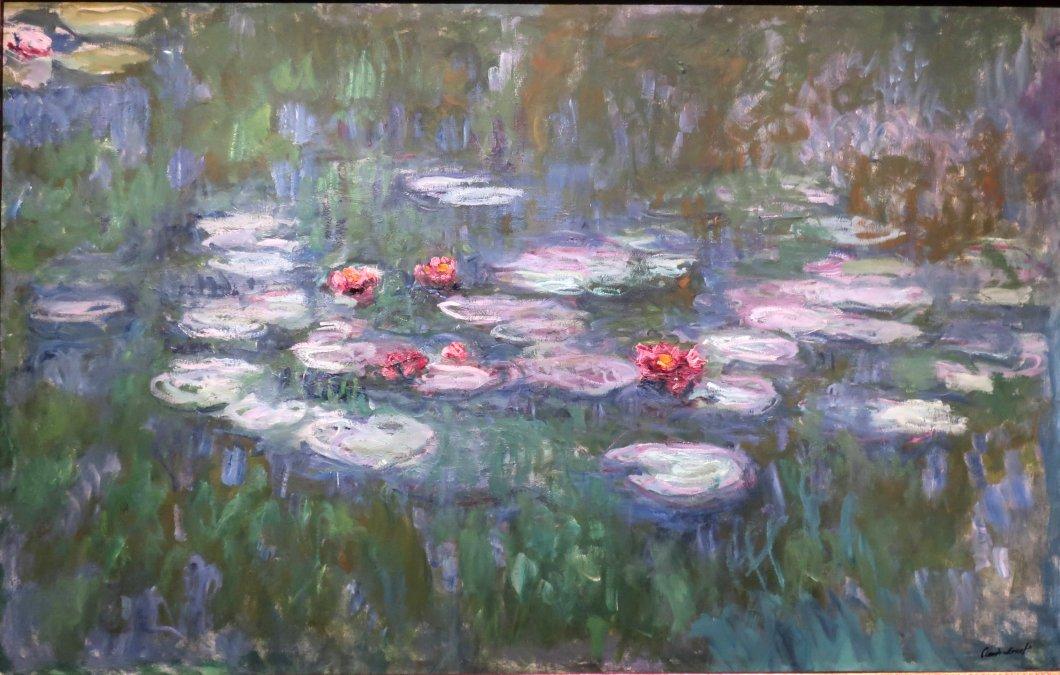 Monet y sus cataratas