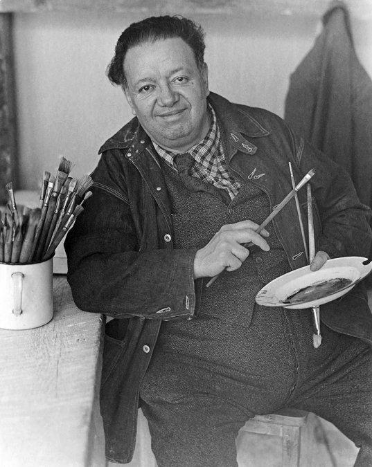 El día que Diego Rivera enfureció a la familia Rockefeller a causa de un mural comunista