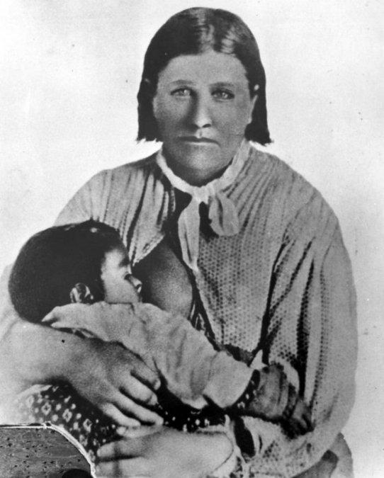 Cynthia Ann Parker.