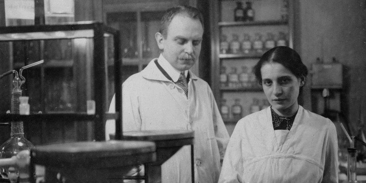 Otto Hahn yLise Meitner.