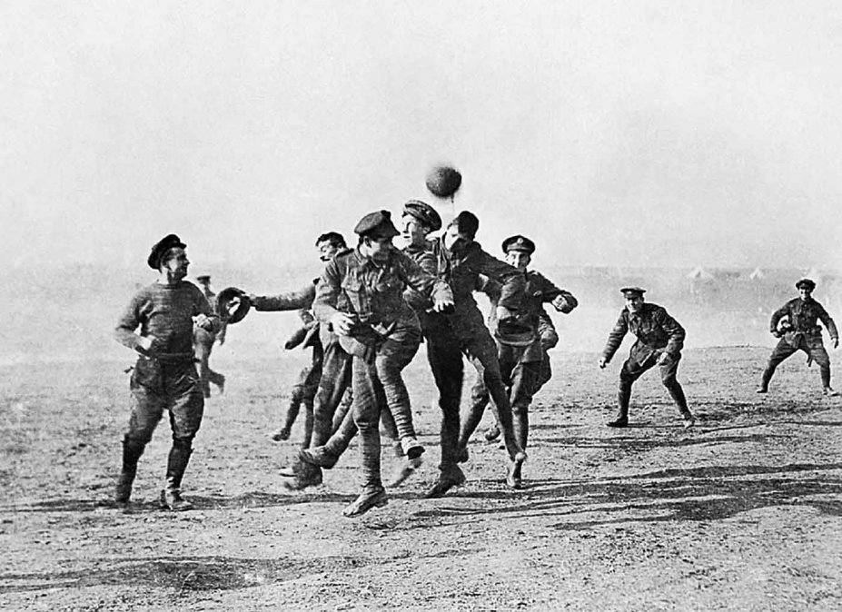 El fútbol y la guerra: Joyeux Noël