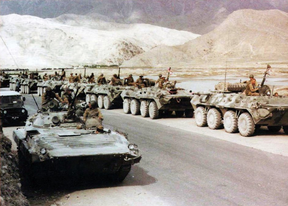 La Unión Soviética interviene en Afganistán