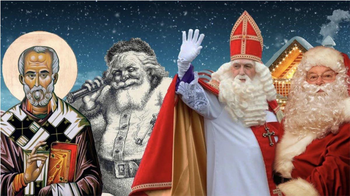 La metamorfosis de Santa Claus: de cómo un obispo se transformó en un simpático abuelo que reparte regalos