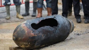 El subsuelo de Berlín esconde bombas de la Segunda Guerra